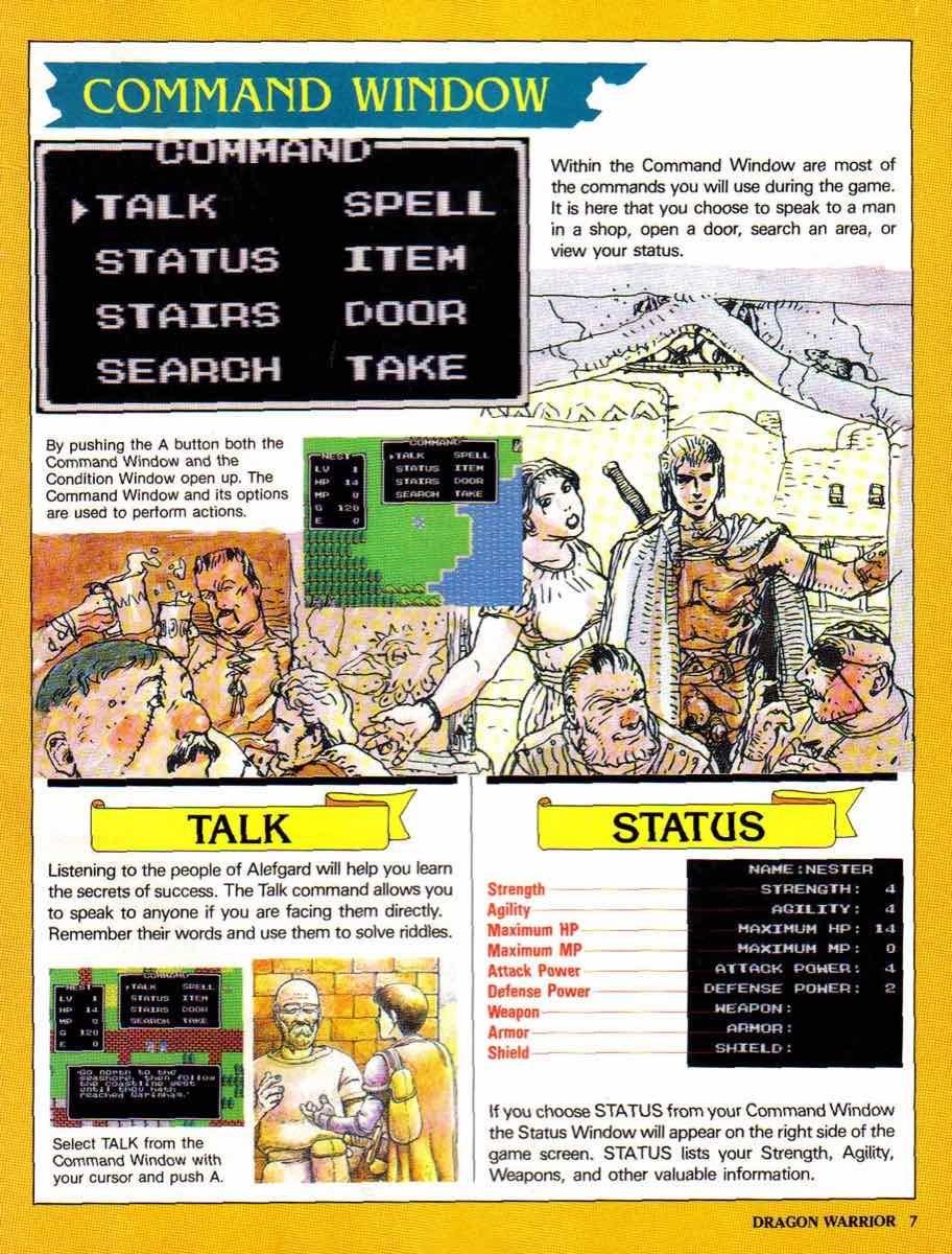 Nintendo Power | November December 1989 | Dragon Warrior Strategy Guide pg-7