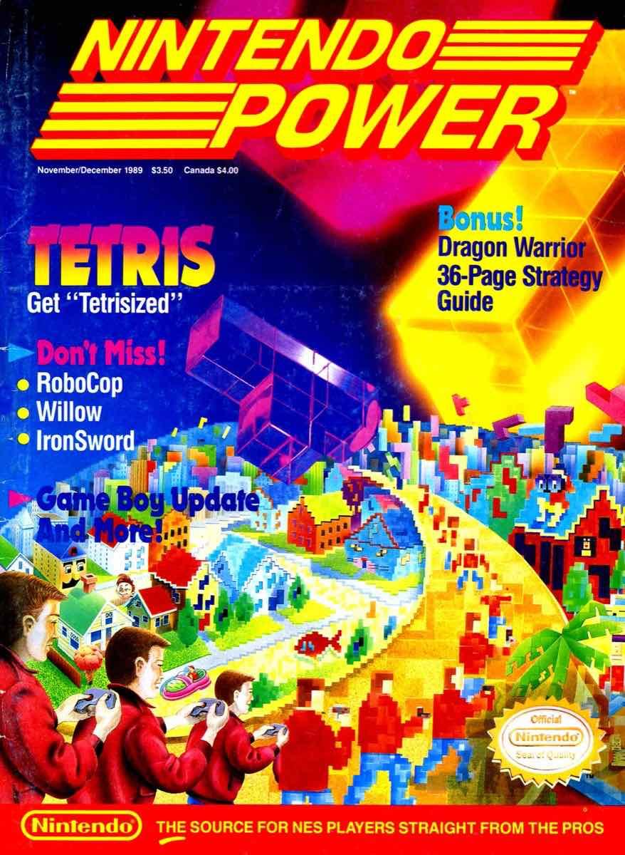 Nintendo Power | November December 1989 pg-1