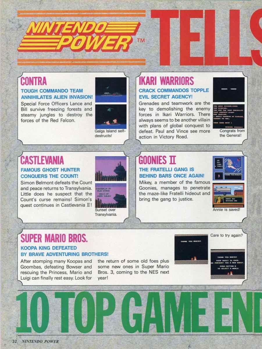 Nintendo Power | November December 1989 pg-32