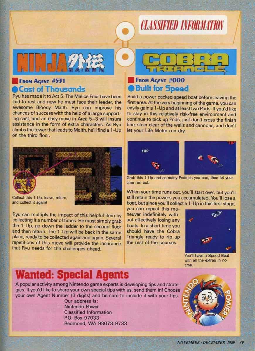 Nintendo Power | November December 1989 pg-79