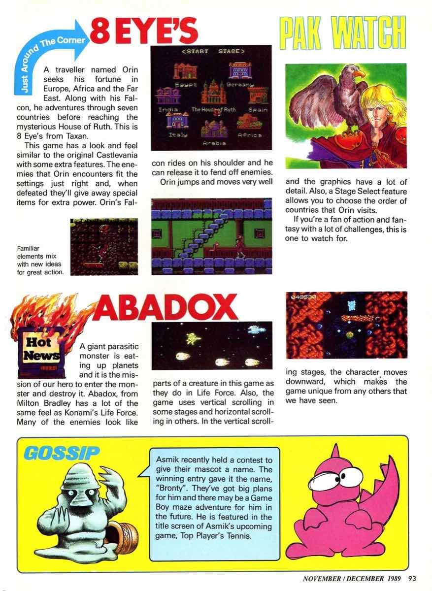 Nintendo Power | November December 1989 pg-93
