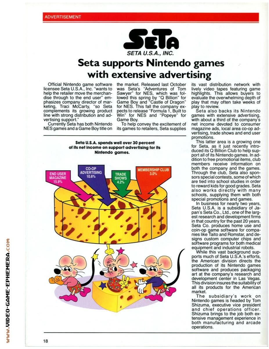 1990 World of Nintendo Buyers Guide p18