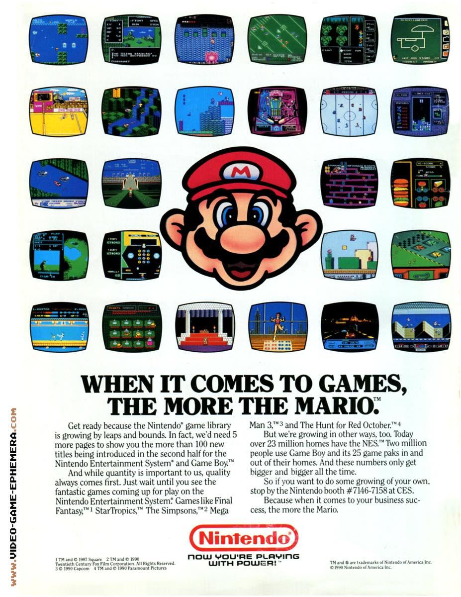 1990 World of Nintendo Buyers Guide p52