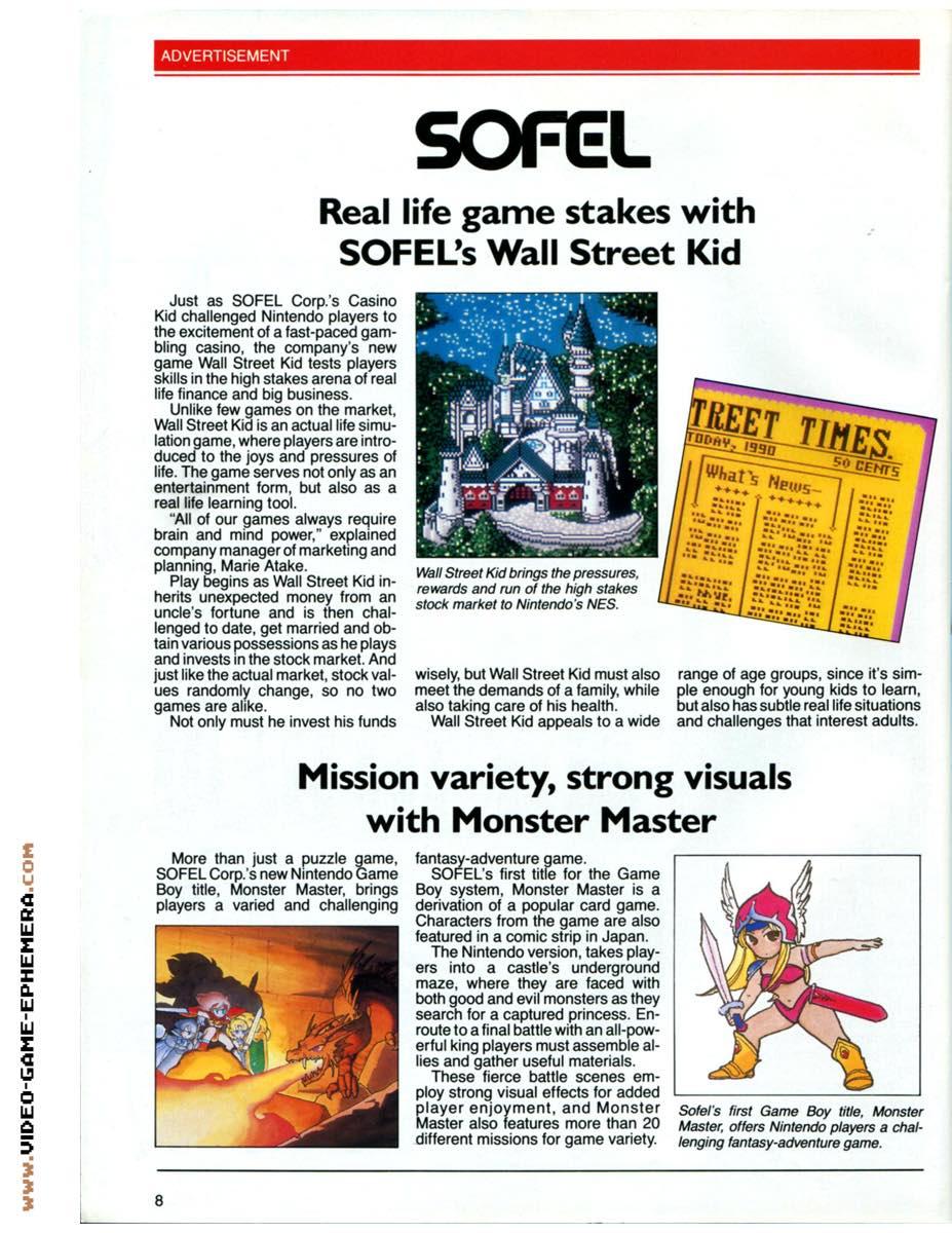 1990 World of Nintendo Buyers Guide p8