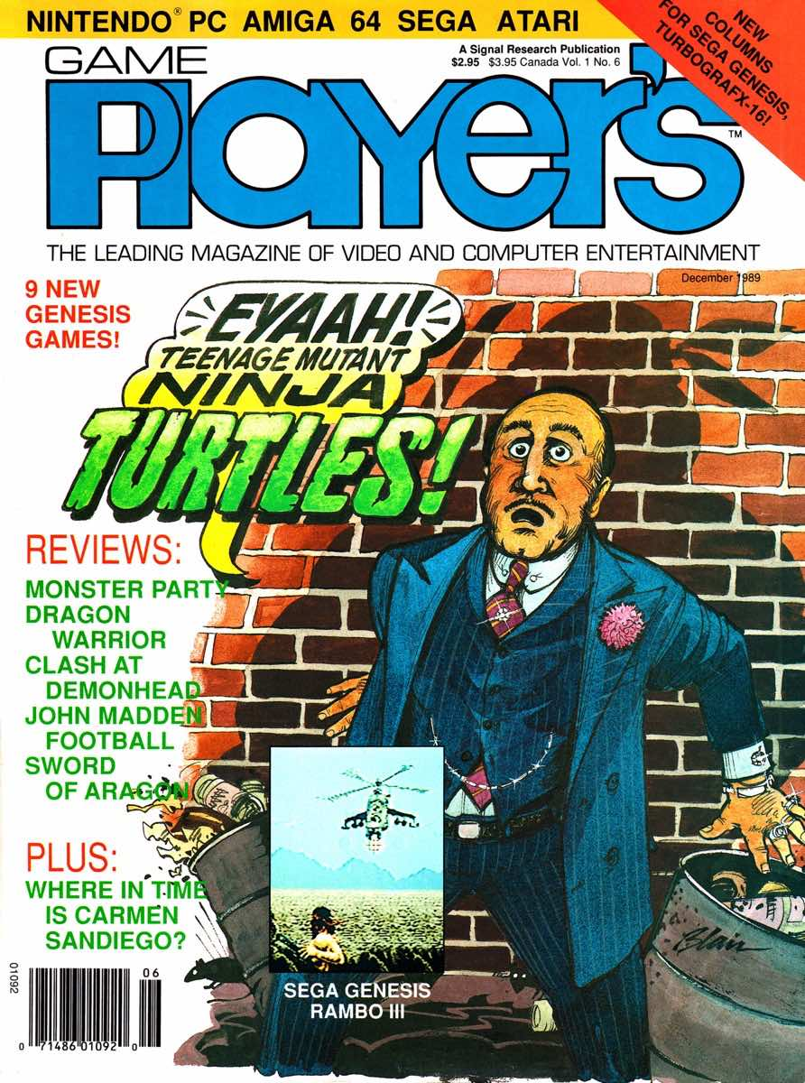 Game Players | December 1989 Cover-1