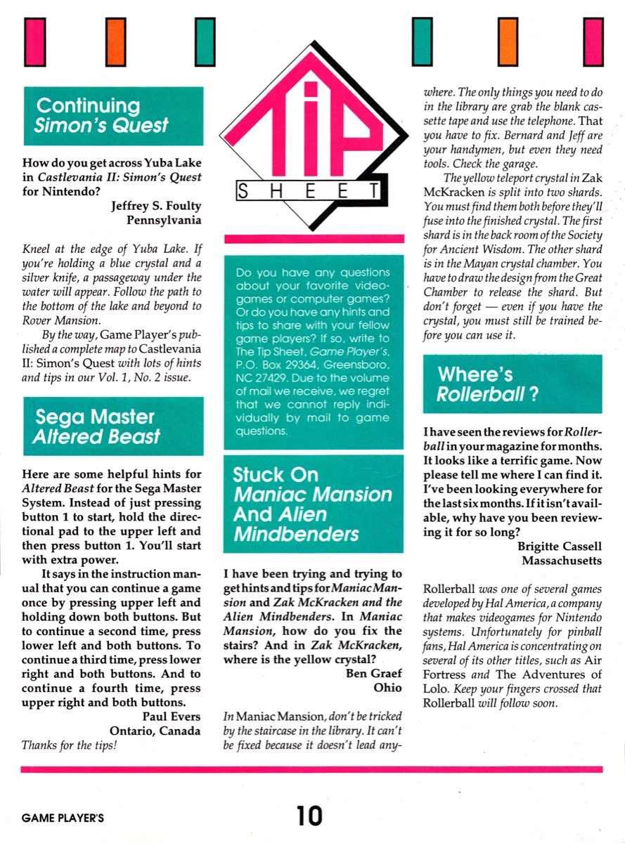 Game Players | December 1989 pg-10