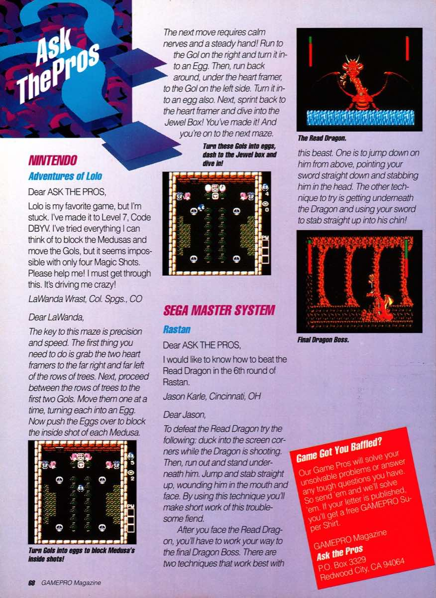 GamePro   December 1989-68