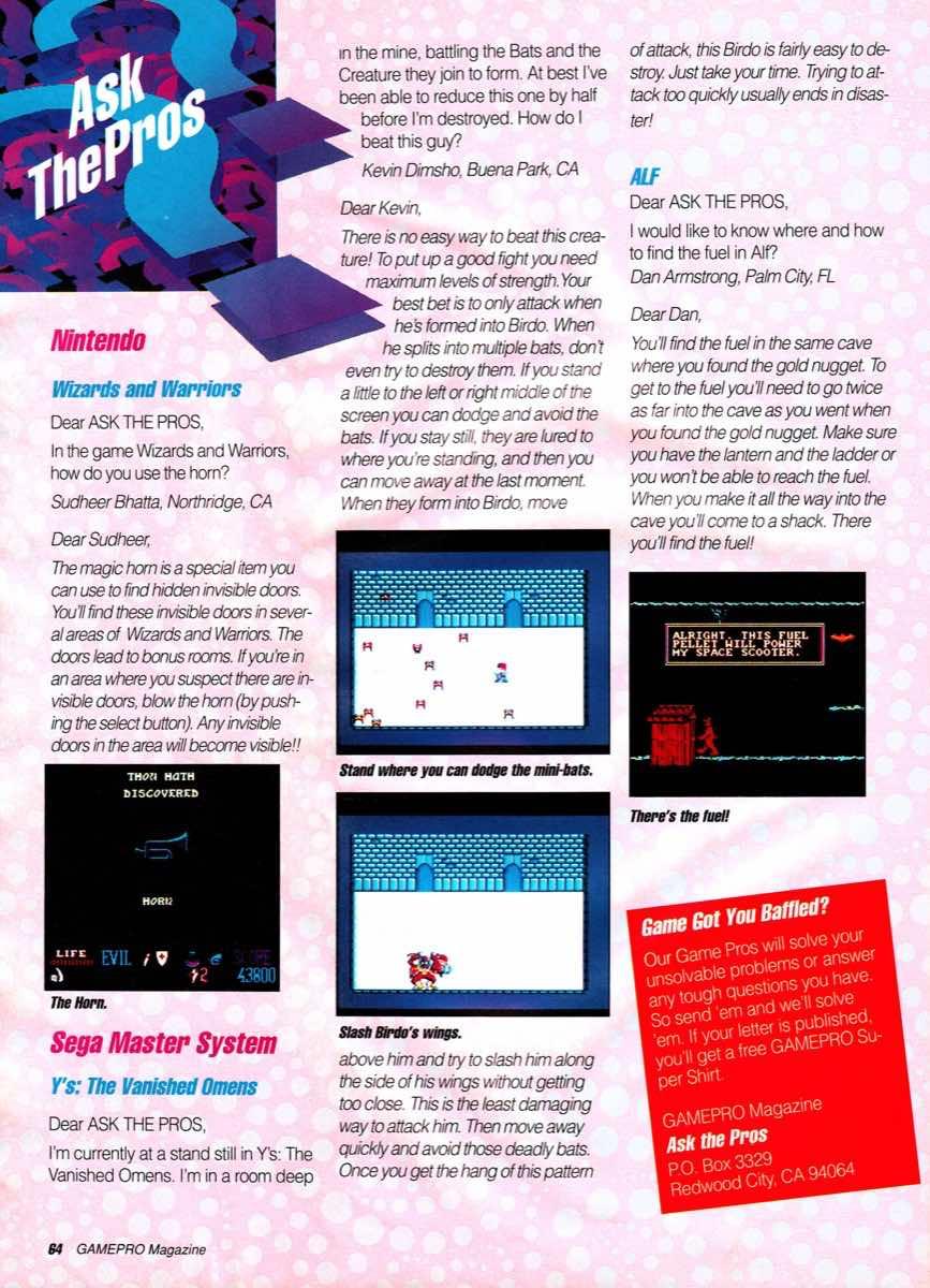 GamePro | January 1990-64