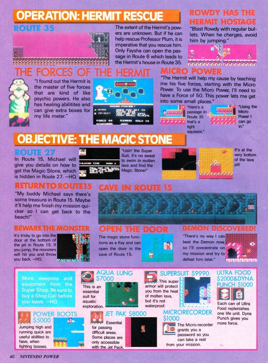 Nintendo Power | January-February 1990-40