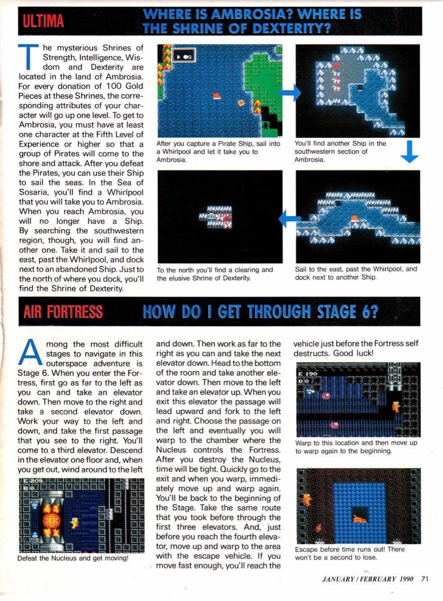 Nintendo Power | January-February 1990-71