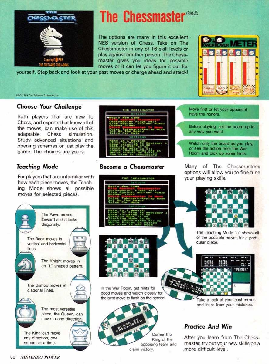 Nintendo Power   January-February 1990-80