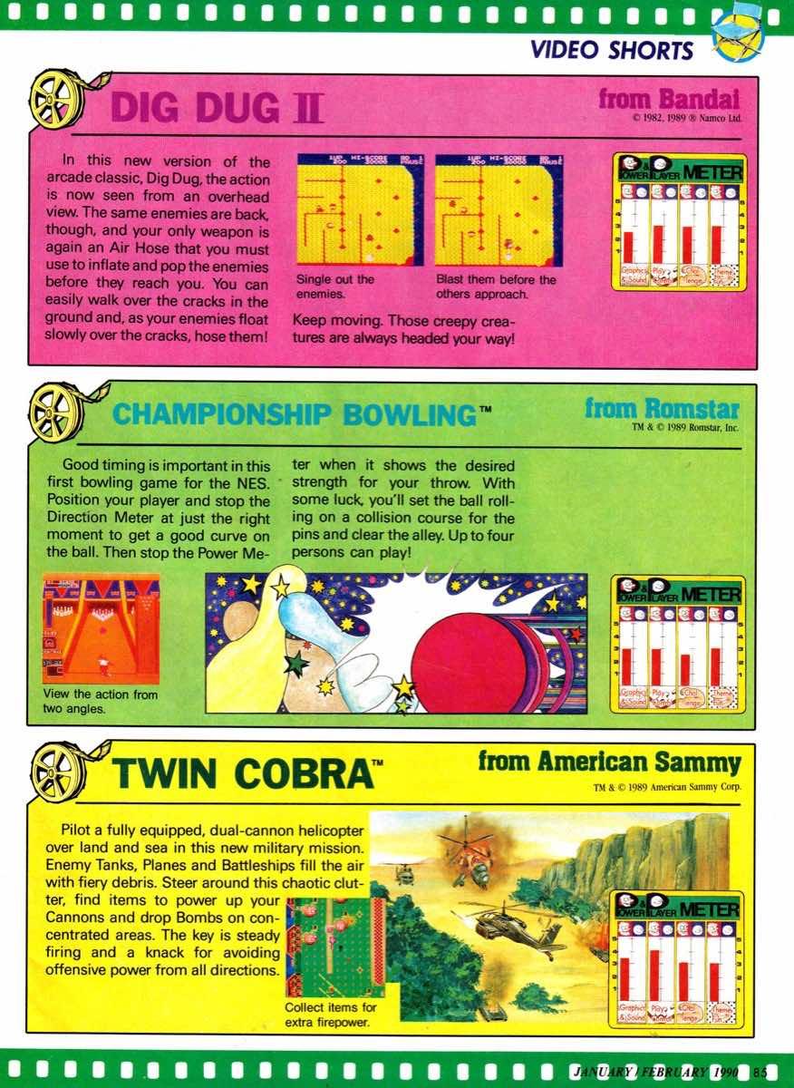 Nintendo Power | January-February 1990-85