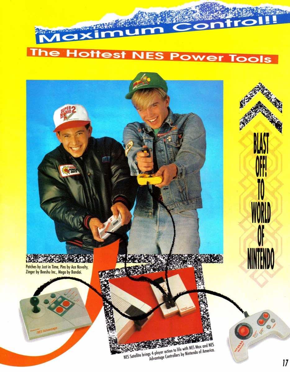 Nintendo Power | January-February 1990-Supplement-17