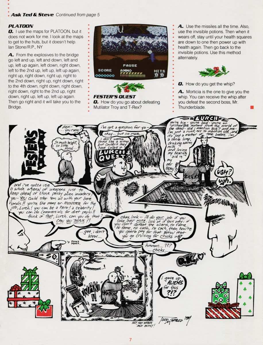 Sunsoft Game Times News   Christmas 1989-7