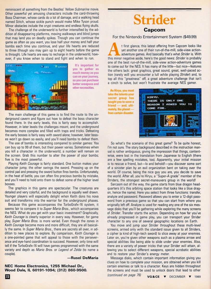 VGCE | December 1989-72