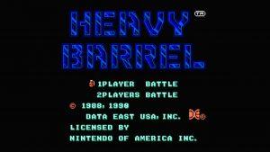Heavy Barrel (NES) Game Hub