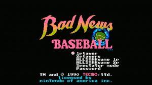 Bad News Baseball (NES) Game Hub