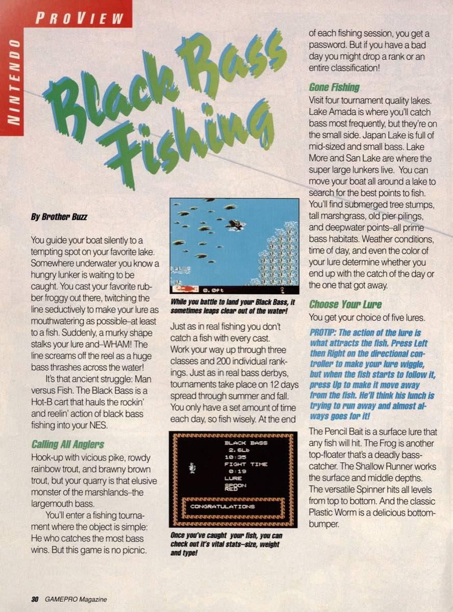GamePro | February 1990 p-30
