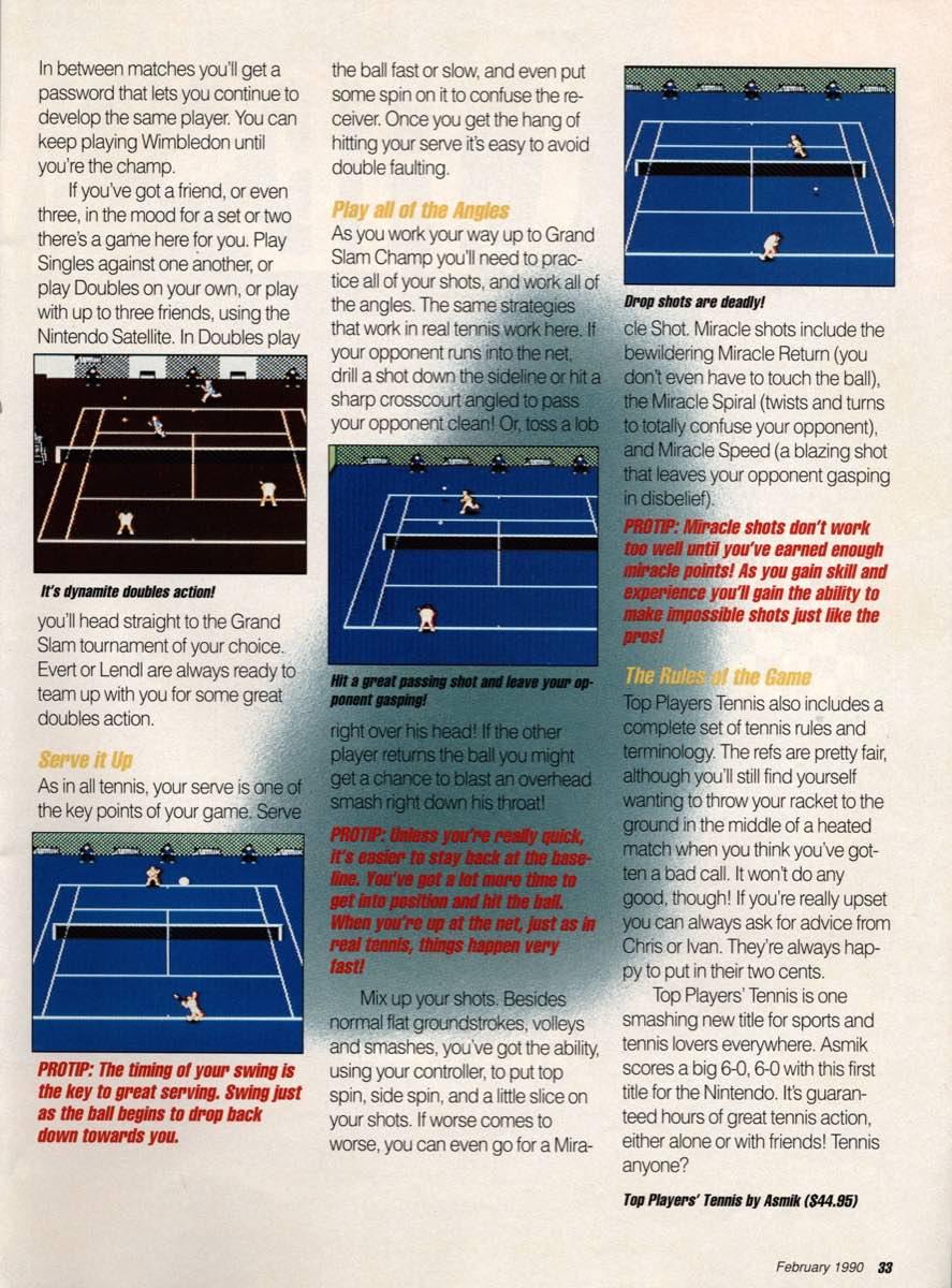 GamePro | February 1990 p-33
