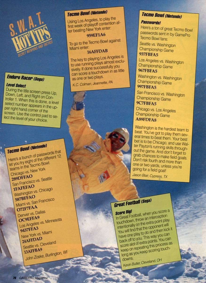 GamePro   February 1990 p-76