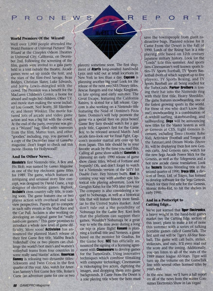 GamePro | February 1990 p-88