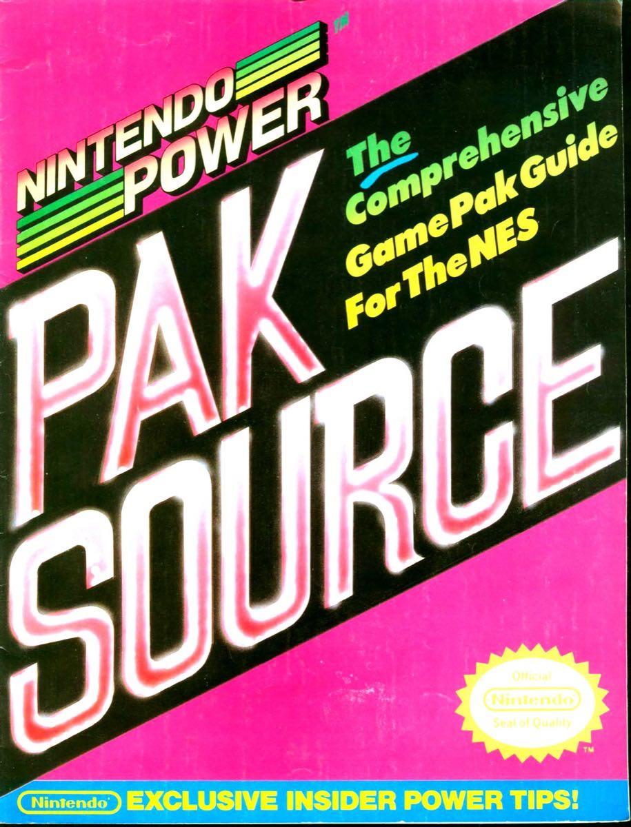Nintendo Power Pak Source | March April 1990 p-01