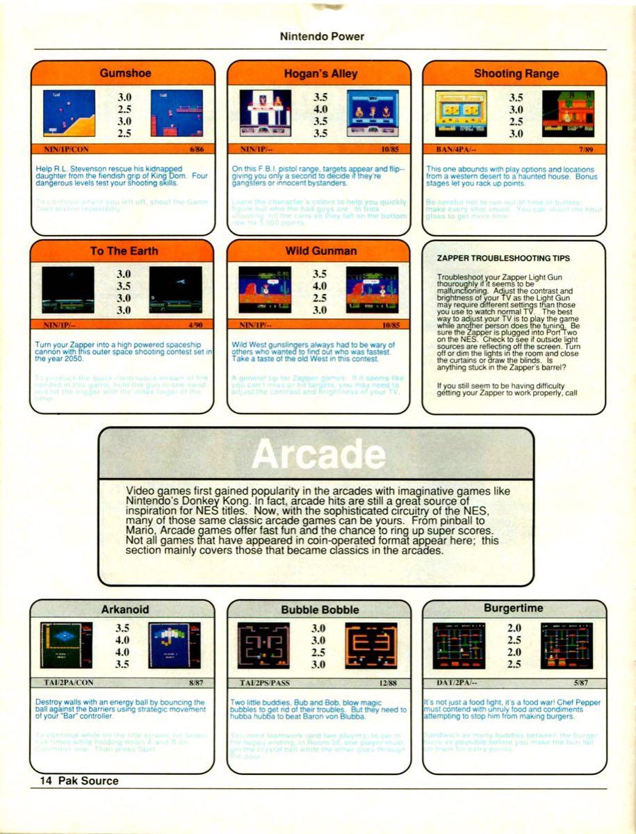 Nintendo Power Pak Source | March April 1990 p-14