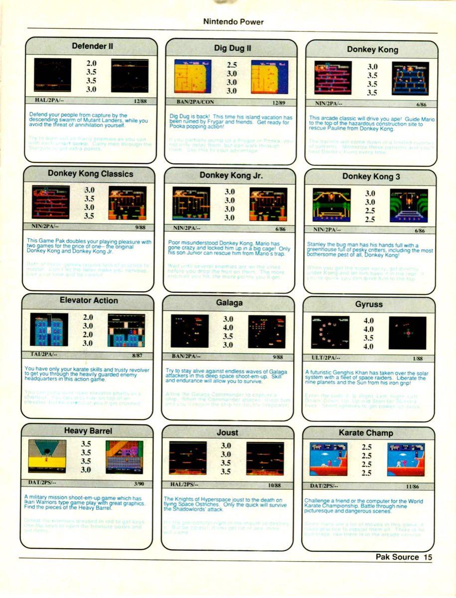 Nintendo Power Pak Source | March April 1990 p-15