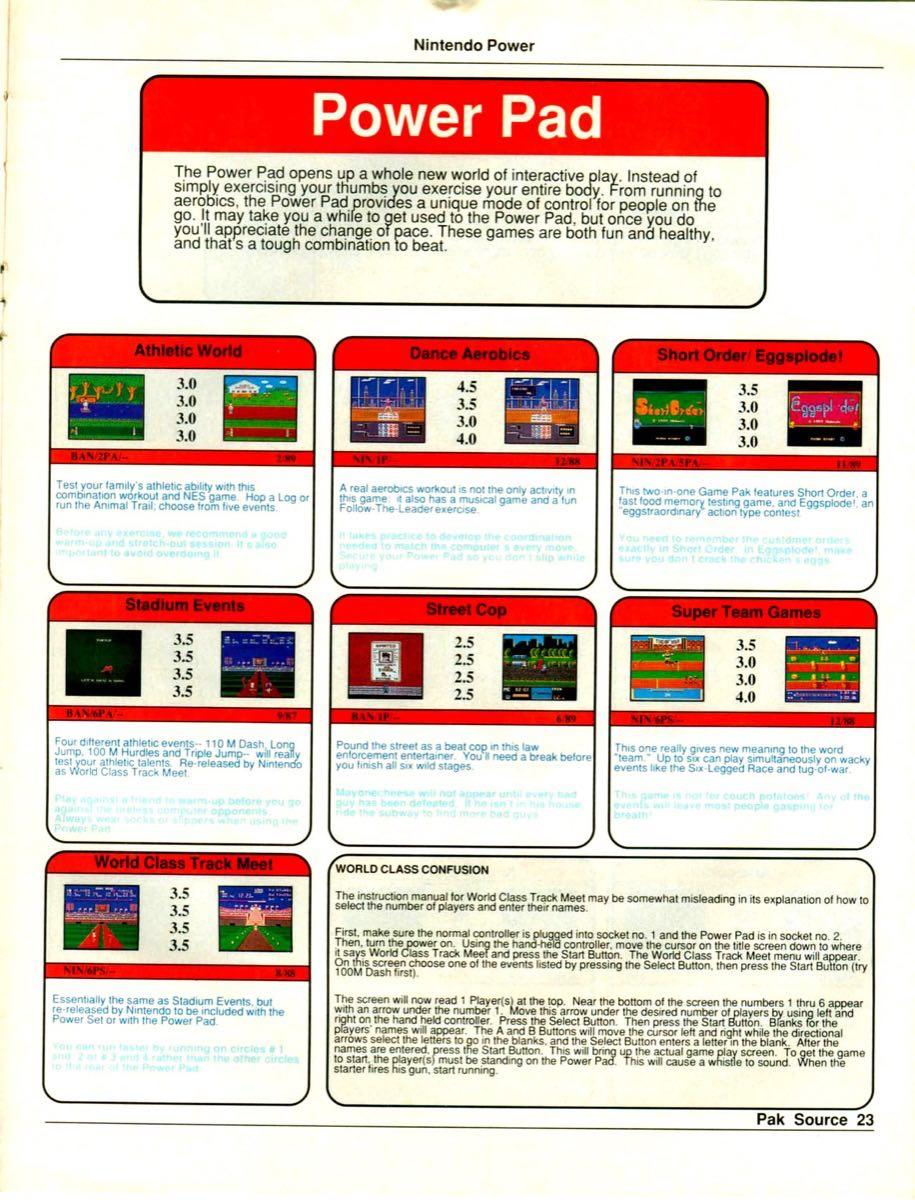 Nintendo Power Pak Source | March April 1990 p-23