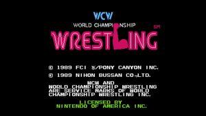 World Championship Wrestling (NES) Game Hub