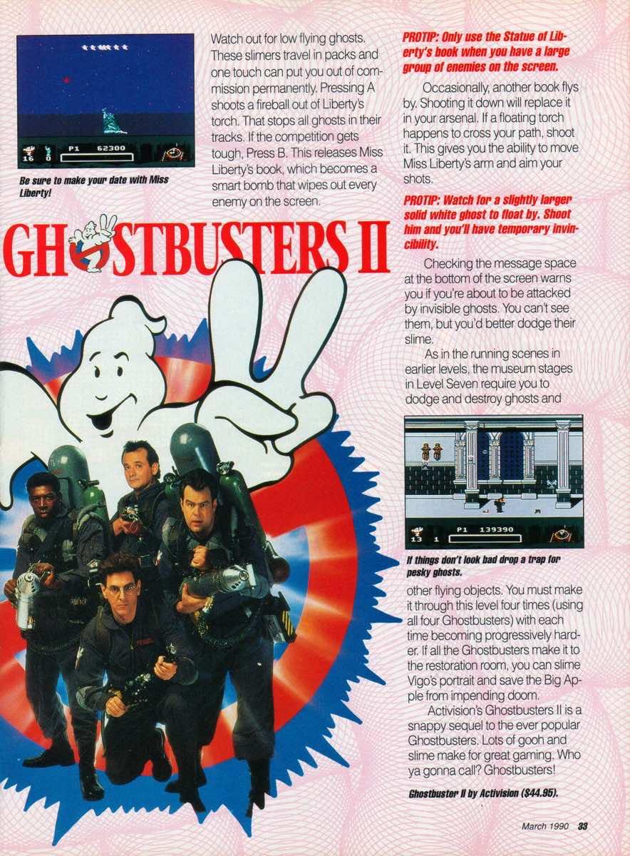 GamePro   March 1990 p-33