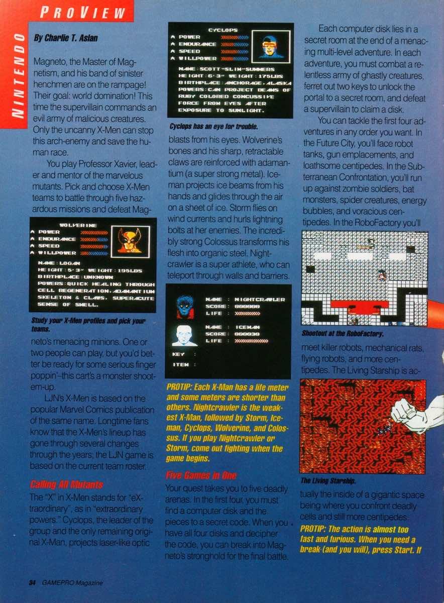 GamePro | March 1990 p-34