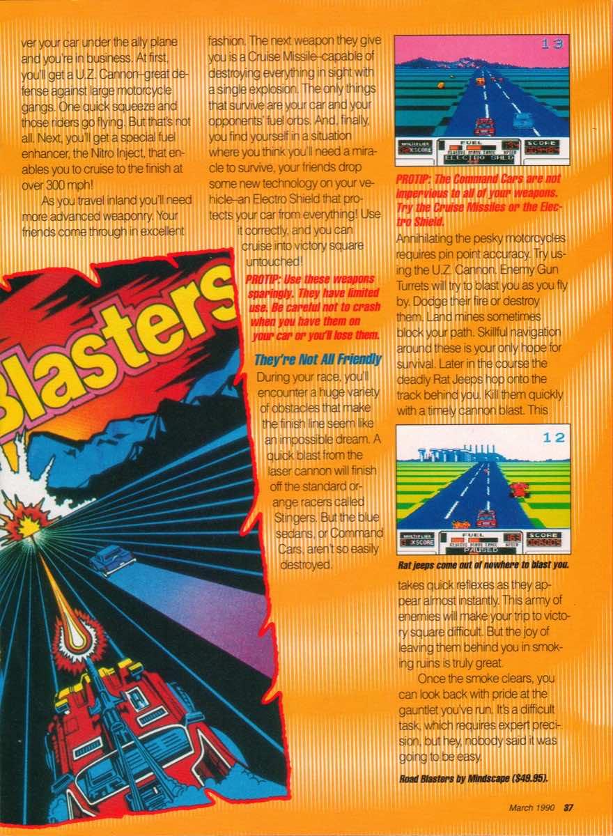 GamePro   March 1990 p-37