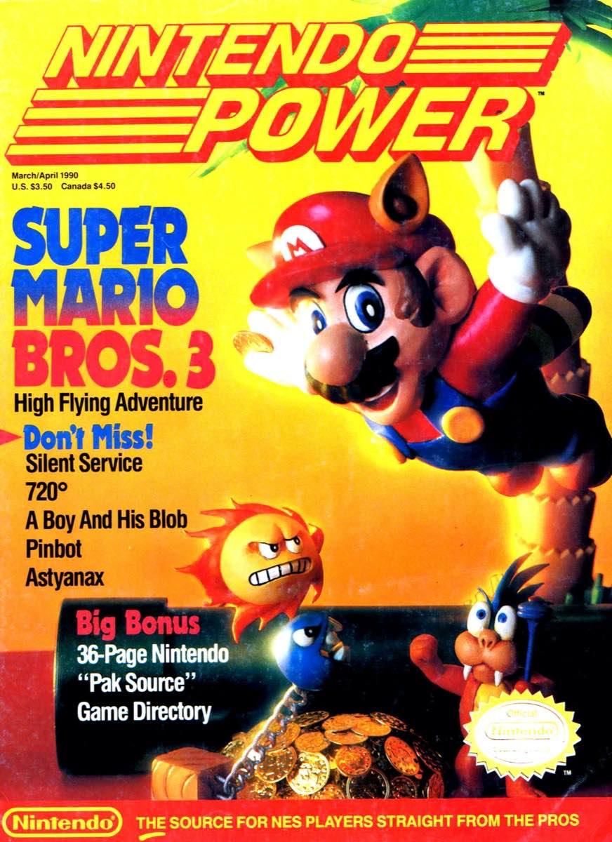 Nintendo Power | March April 1990 p-001