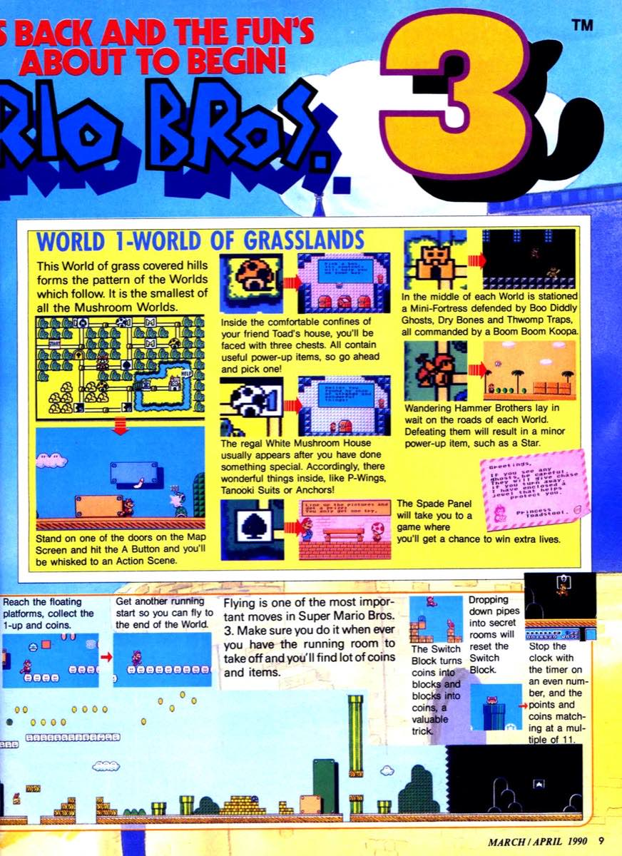 Nintendo Power   March April 1990 p-009
