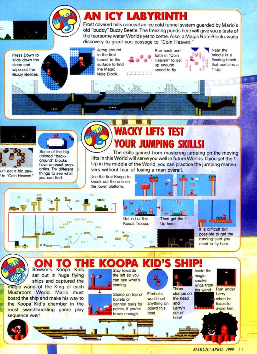 Nintendo Power   March April 1990 p-011
