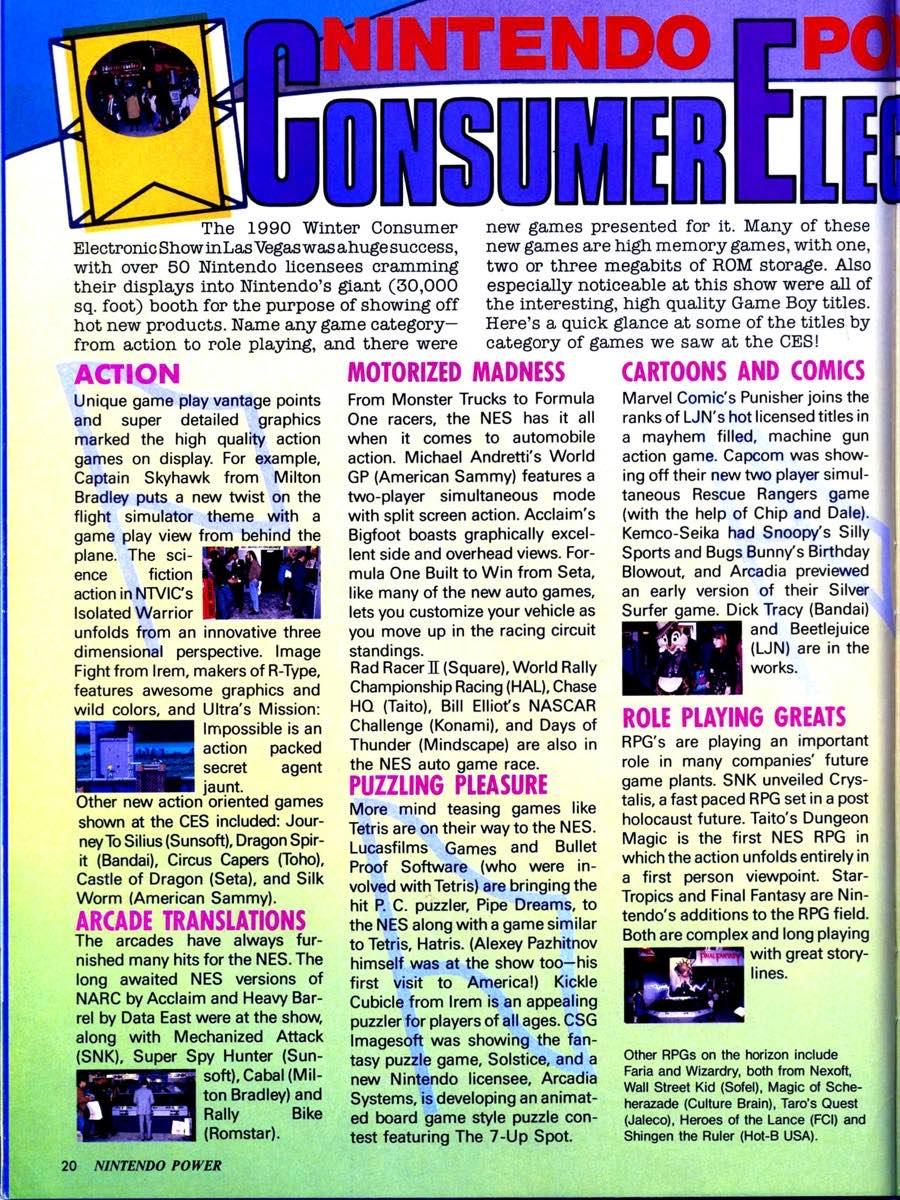 Nintendo Power | March April 1990 p-020