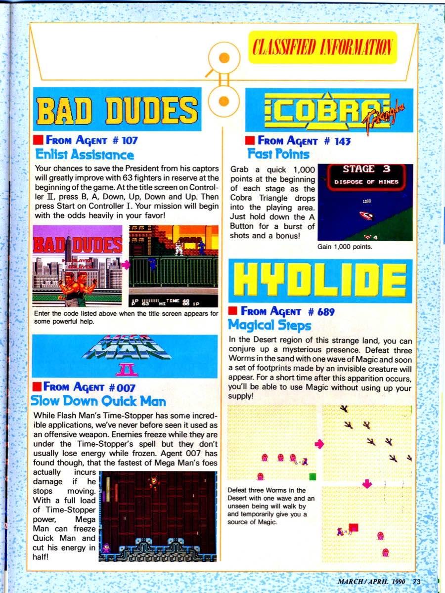 Nintendo Power | March April 1990 p-073
