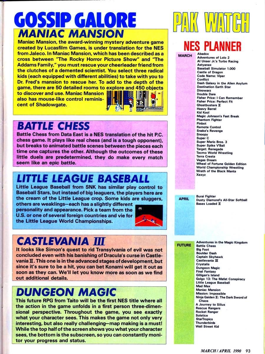Nintendo Power | March April 1990 p-093