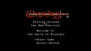 Wizardry: Proving Grounds Of The Mad Overlord (NES) Game Hub