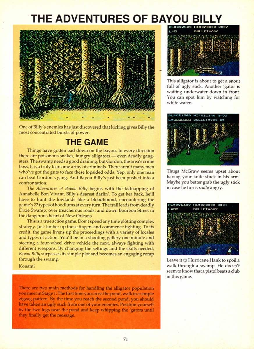 Game Player's Encyclopedia of Nintendo Games page 071
