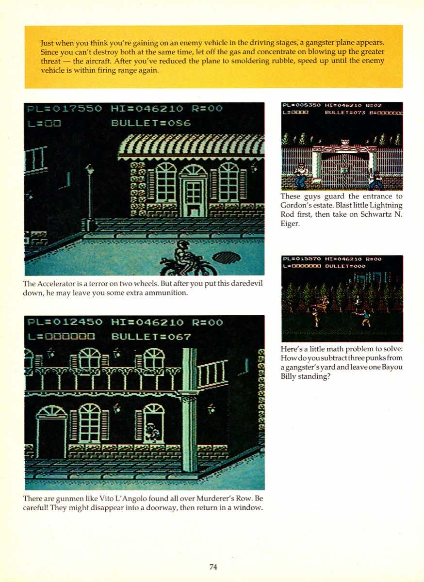 Game Player's Encyclopedia of Nintendo Games page 074
