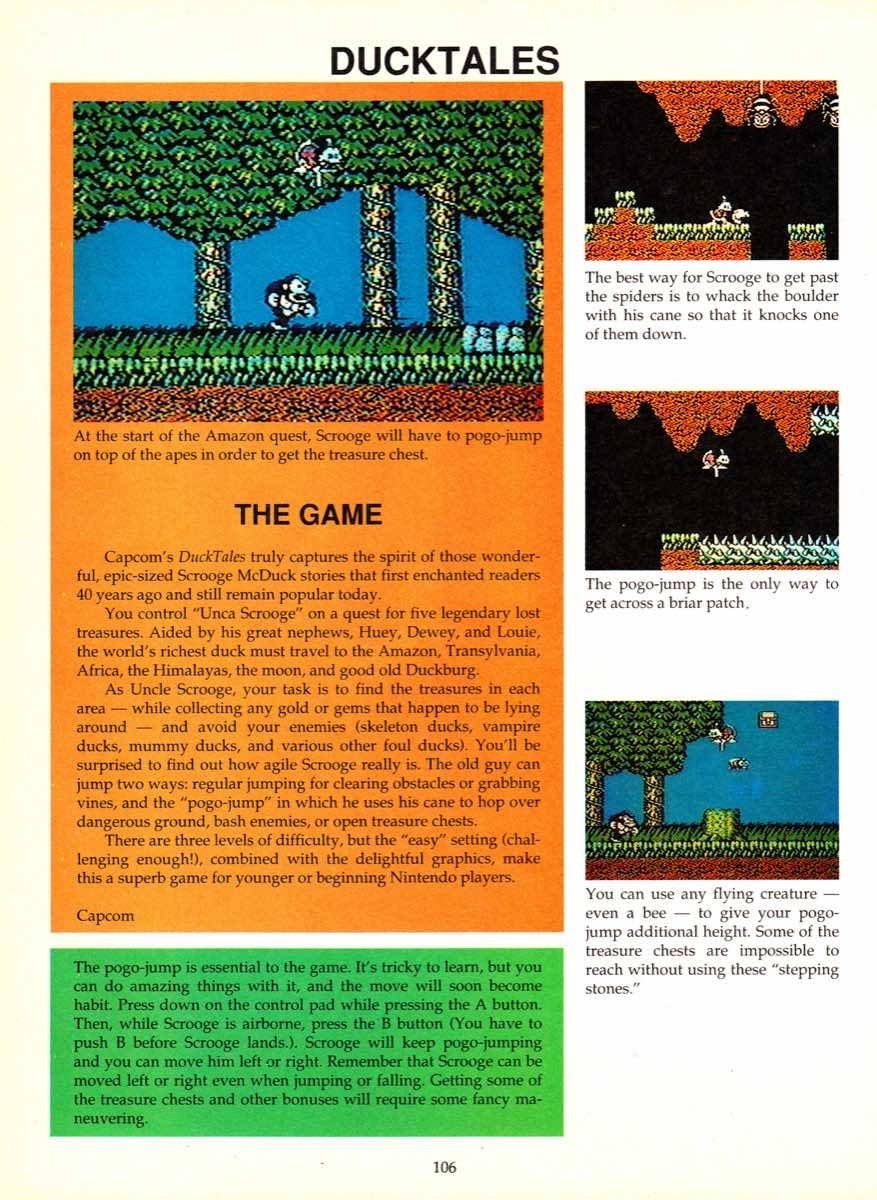 Game Player's Encyclopedia of Nintendo Games page 106