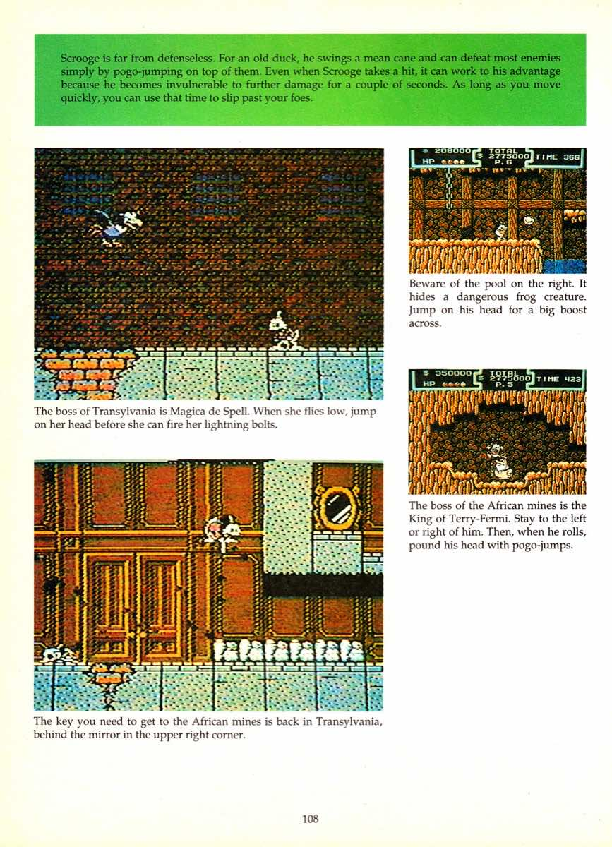 Game Player's Encyclopedia of Nintendo Games page 108