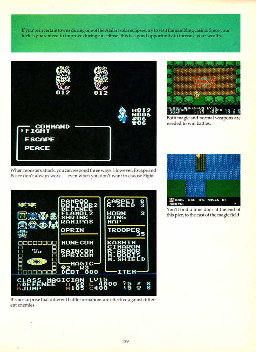 Game Player's Encyclopedia of Nintendo Games page 139