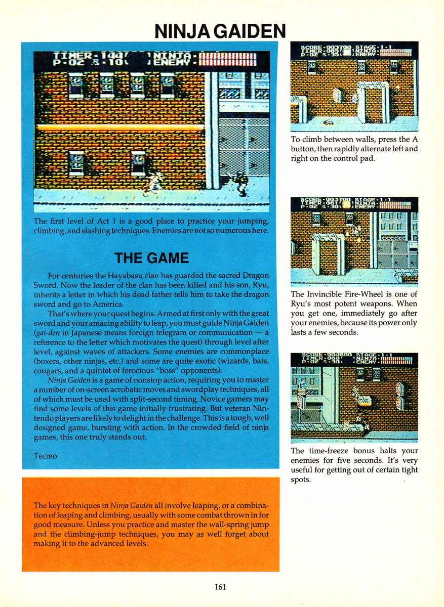 Game Player's Encyclopedia of Nintendo Games page 161
