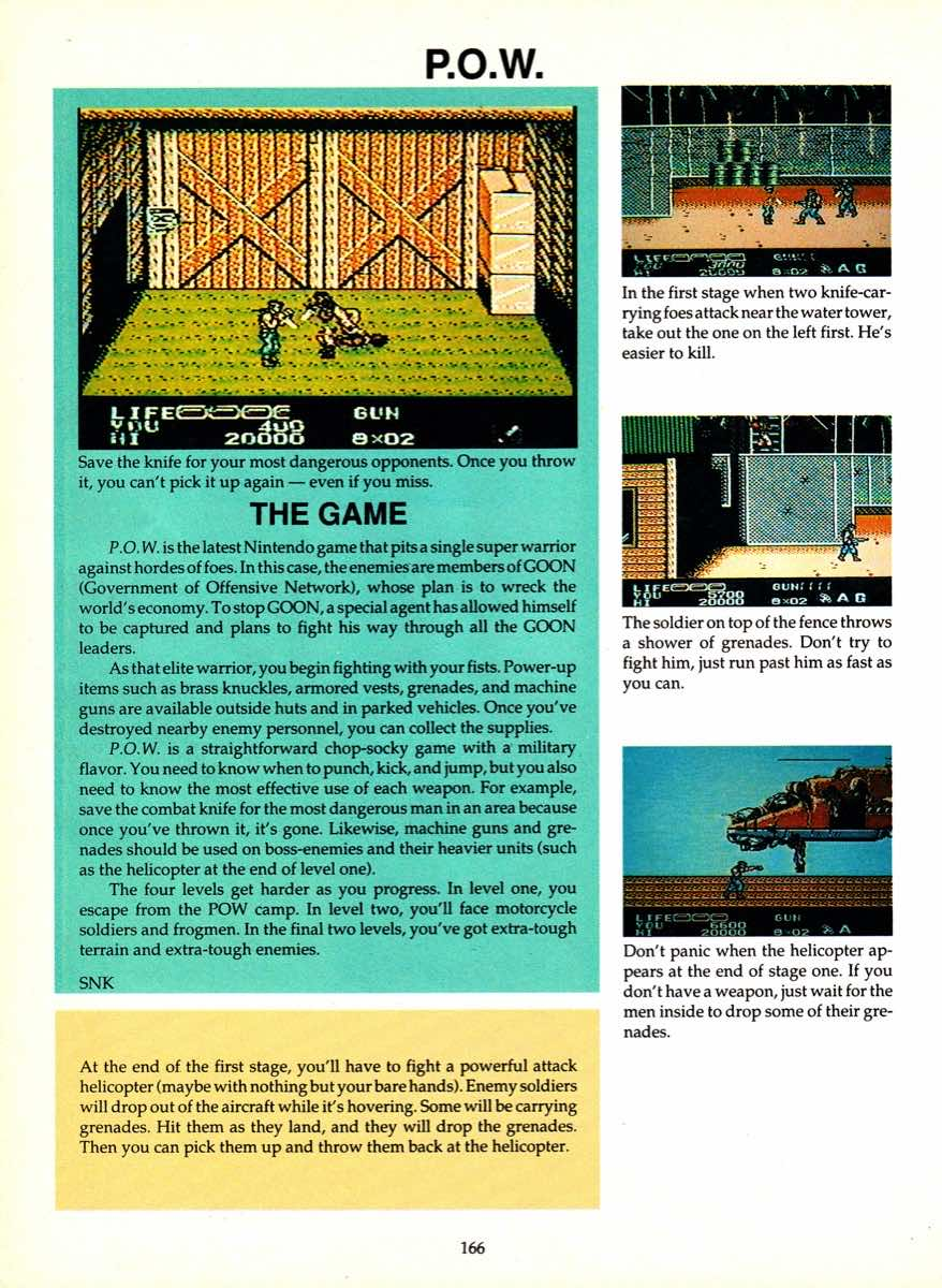 Game Player's Encyclopedia of Nintendo Games page 166