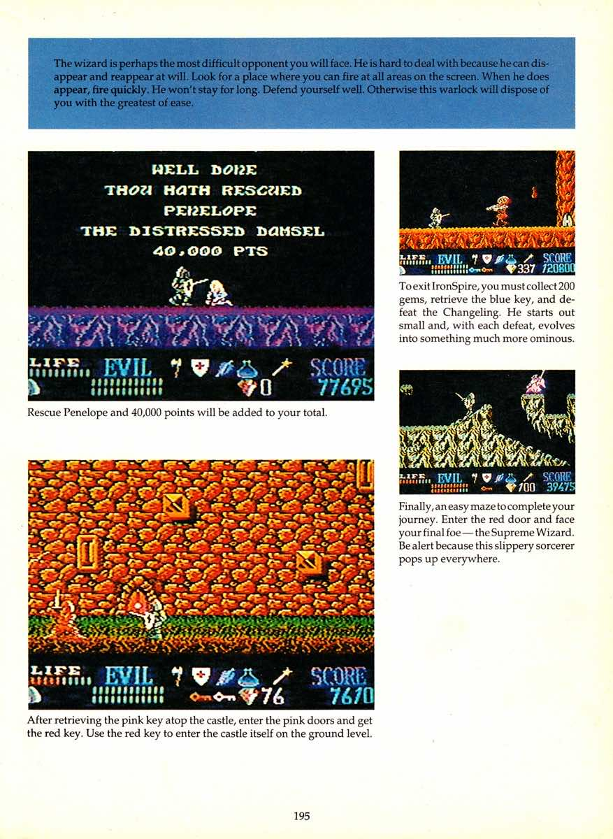 Game Player's Encyclopedia of Nintendo Games page 195