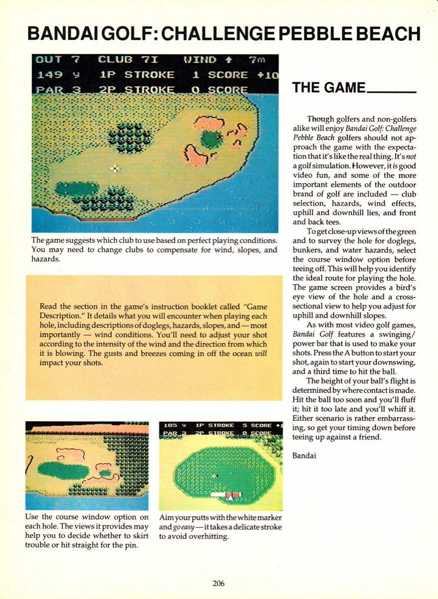 Game Player's Encyclopedia of Nintendo Games page 206
