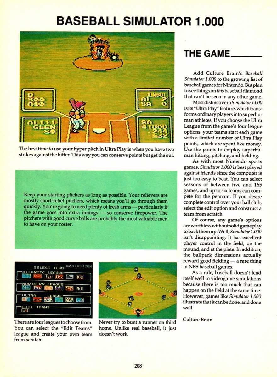 Game Player's Encyclopedia of Nintendo Games page 208